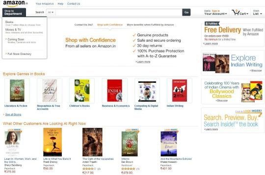 Amazon Establishes Online Marketplace in India