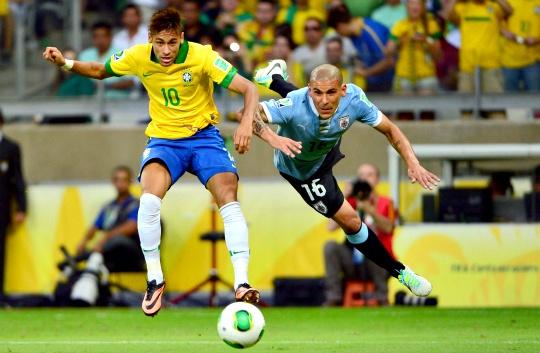 Brazil Reach Confederations Cup Final
