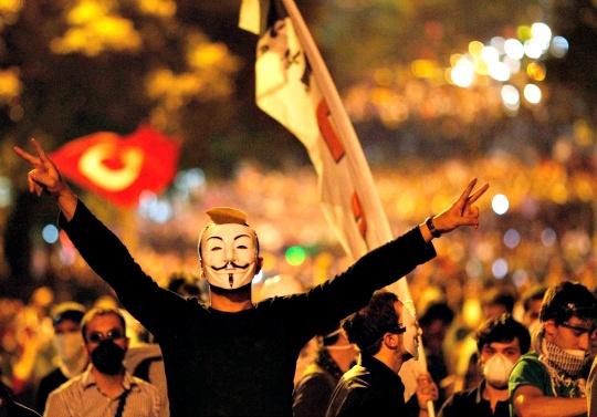 Uneasy Calm in Turkey's Riot Square