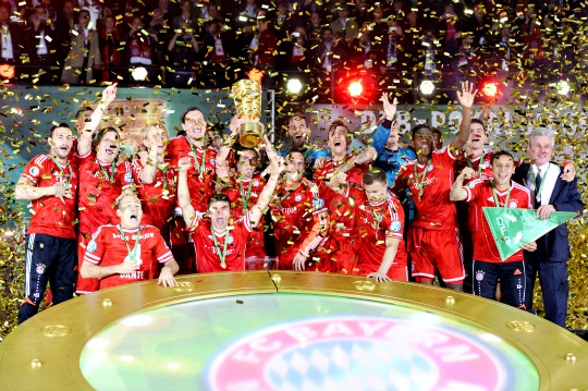 Bayern Win Cup to Earn Historic Treble