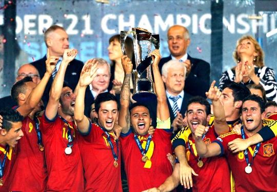 Thiago Shines as Spain Retain U-21 Title