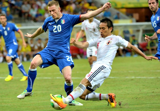 Italy Beat Japan to Enter Confed Semis