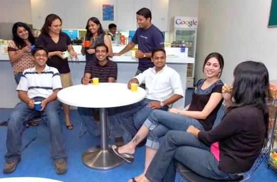 Google: The Best Workplace in India