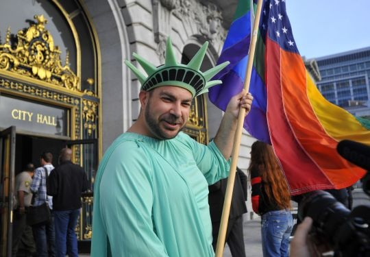 Gay Marriages Resume in California