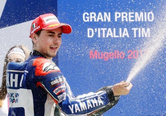 Jorge Lorenzo Wins Italian MotoGP