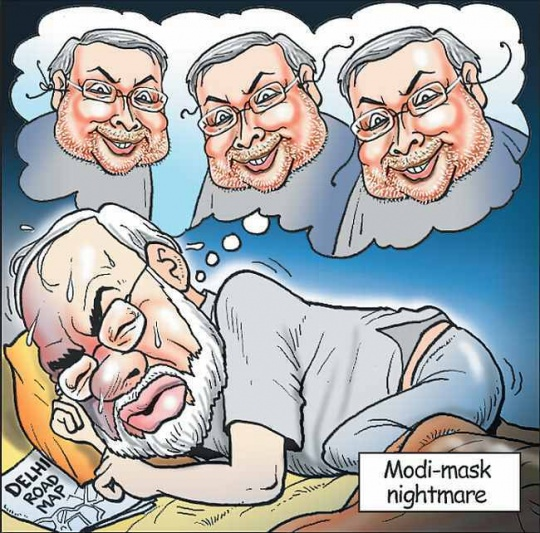 Narendra Modi vs Nitish Kumar