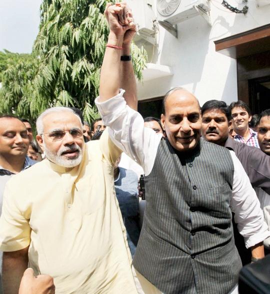 Rajnath Singh Set to Anoint Narendra Modi