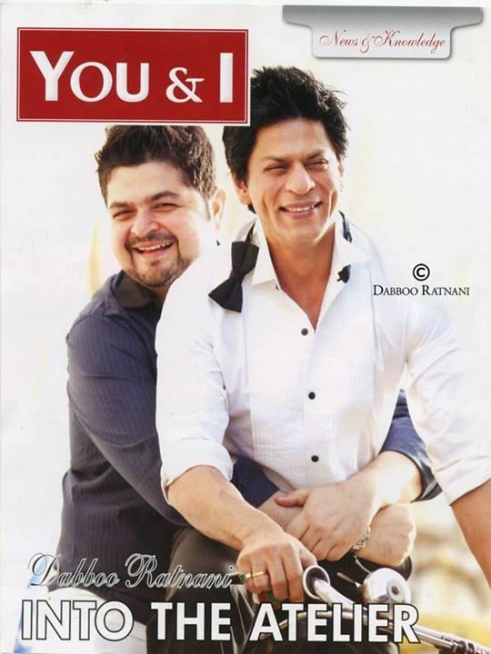 SRK, Dabboo Ratnani