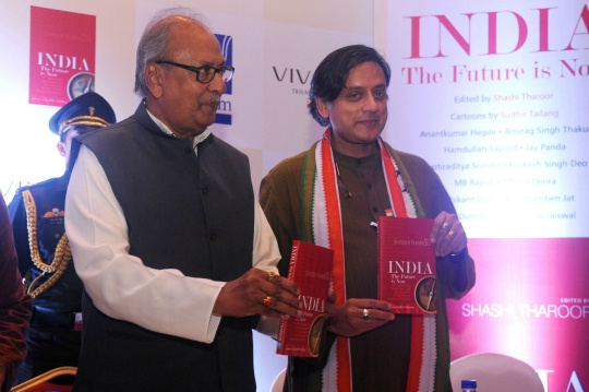 Shashi Tharoor's Latest: The Future Is Now