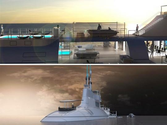 Submarine-Yacht Migaloo