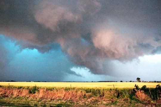 Tornadoes Hit Oklahoma Again