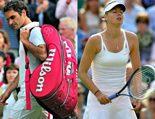Roger Federer, Maria Sharapova