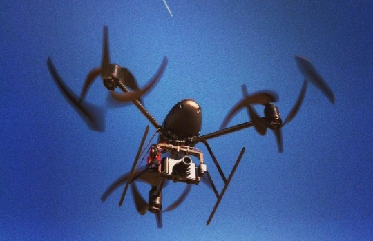 Drones to Bring you Pizzas