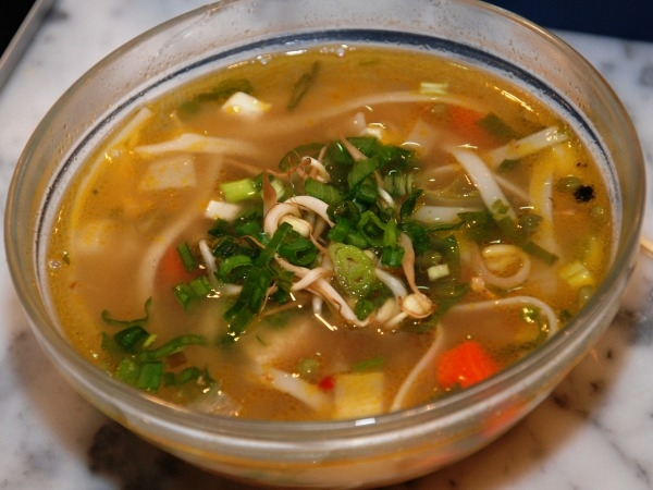 Healthy Recipes: Tofu And Sprout Soup