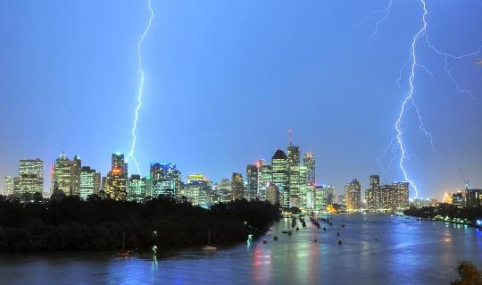 Severe Thunderstorms Hit Queensland, Australia