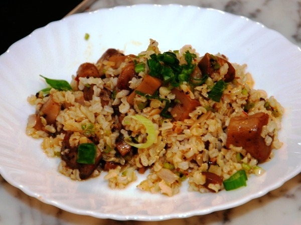 Healthy Recipes: Peppery Mushroom And Brown Rice Bowl