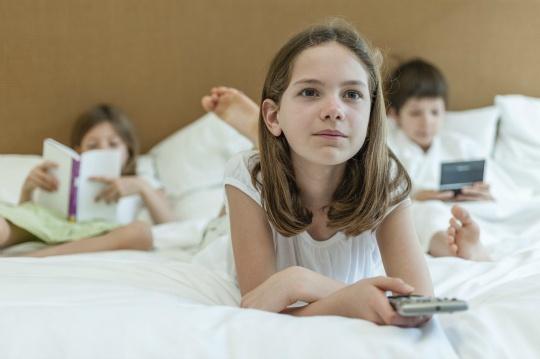 TV Addiction Turns Kids Anti-Social