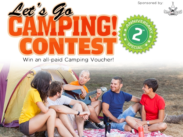 2nd Anniversary Special: Let's Go Camping! Contest