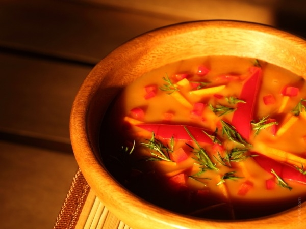 Healthy Recipe: One Dish Meal Soup With Red Lentil