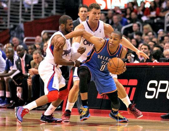 Thunder Hold on to Beat LA Clippers