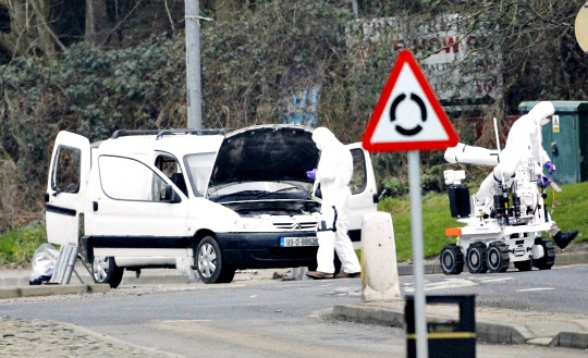 Northern Ireland Blast Was Bomb: Police