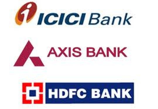 HDFC Bank, ICICI, Axis