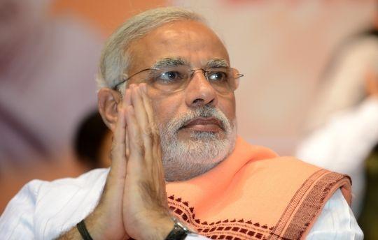 Narendra Modi Blasts Congress At BJP conclave