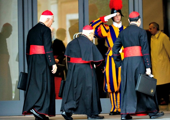 Cardinals Set Out to Pick New Pope