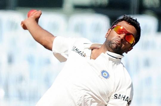 Ashwin Strikes Twice for India
