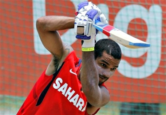 Shikhar Dhawan to Miss Home Test Against Australia