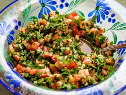 Healthy Salad Recipes: Tabbouleh Salad (Parsley Salad)