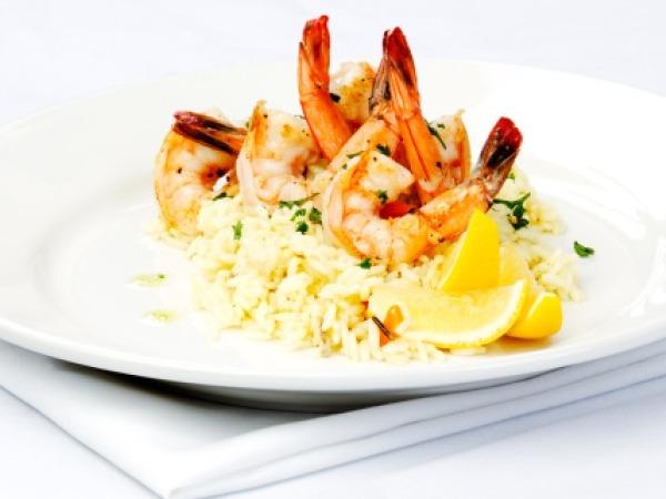 Healthy Seafood Recipe: Healthy Prawn Risotto
