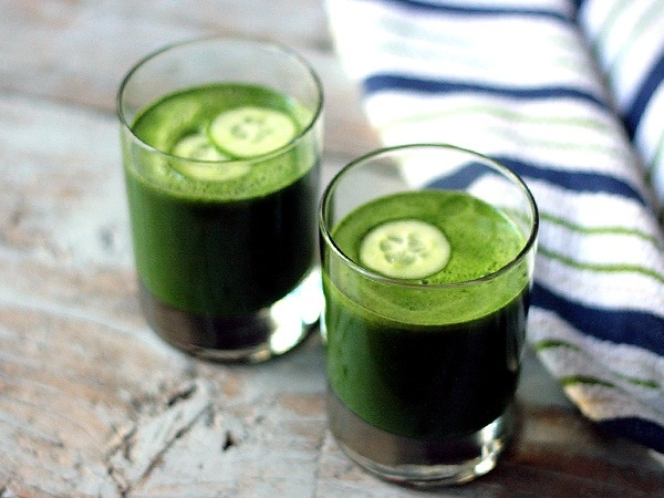Healthy Drink: Green Detox Juice
