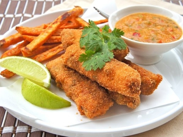 Healthy Appetiser: Healthy Fish Fingers