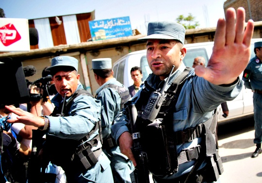 Afghan Police Chief Shot Dead