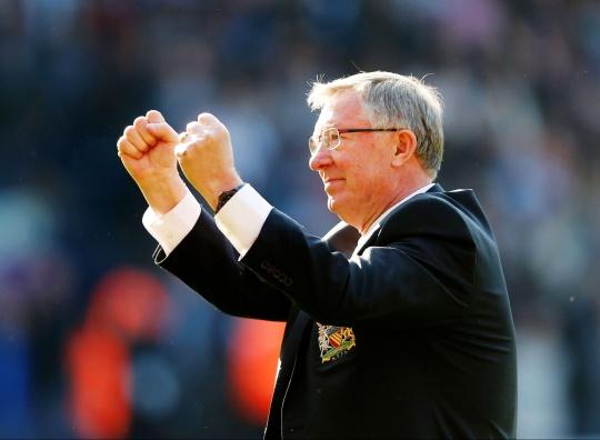 Sir Alex Ferguson Wins Manager of Year Award