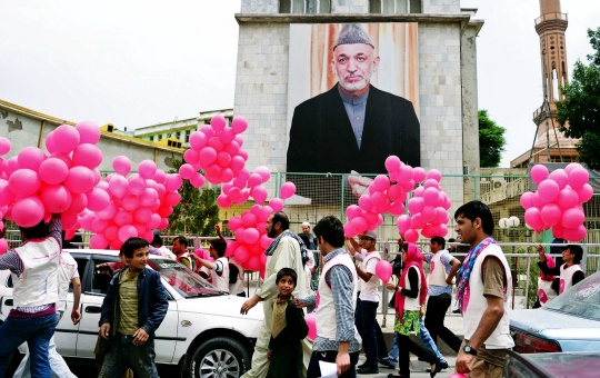 After Kabul Attacks, 10,000 Peace Balloons