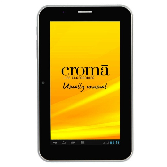 Croma 3G Tablet Coming Soon for Rs 9,990