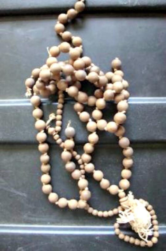 Gandhi's Prayer Beads