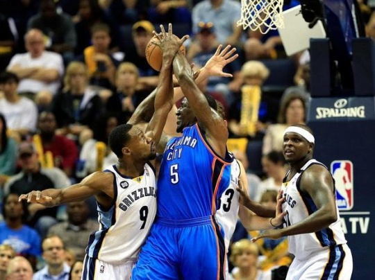 Gasol Powers Grizzlies Past Thunder