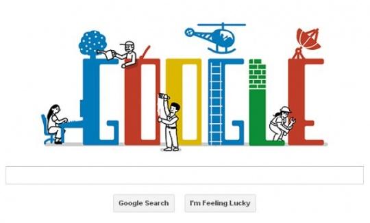 Google Doodle Labour Day