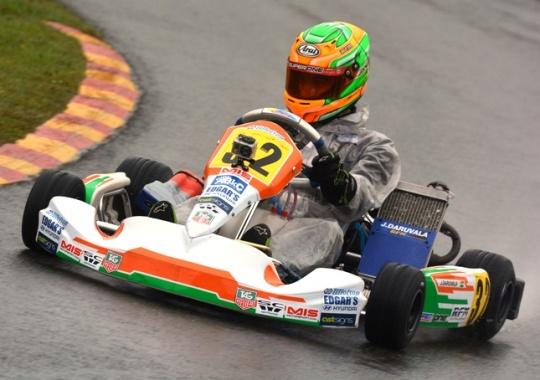 Jehan Daruvala Shines at British Karting
