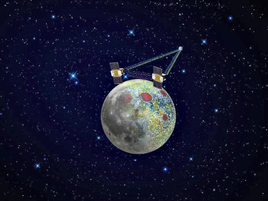 NASA's GRAIL Mission Solves Moon's Gravity Mystery
