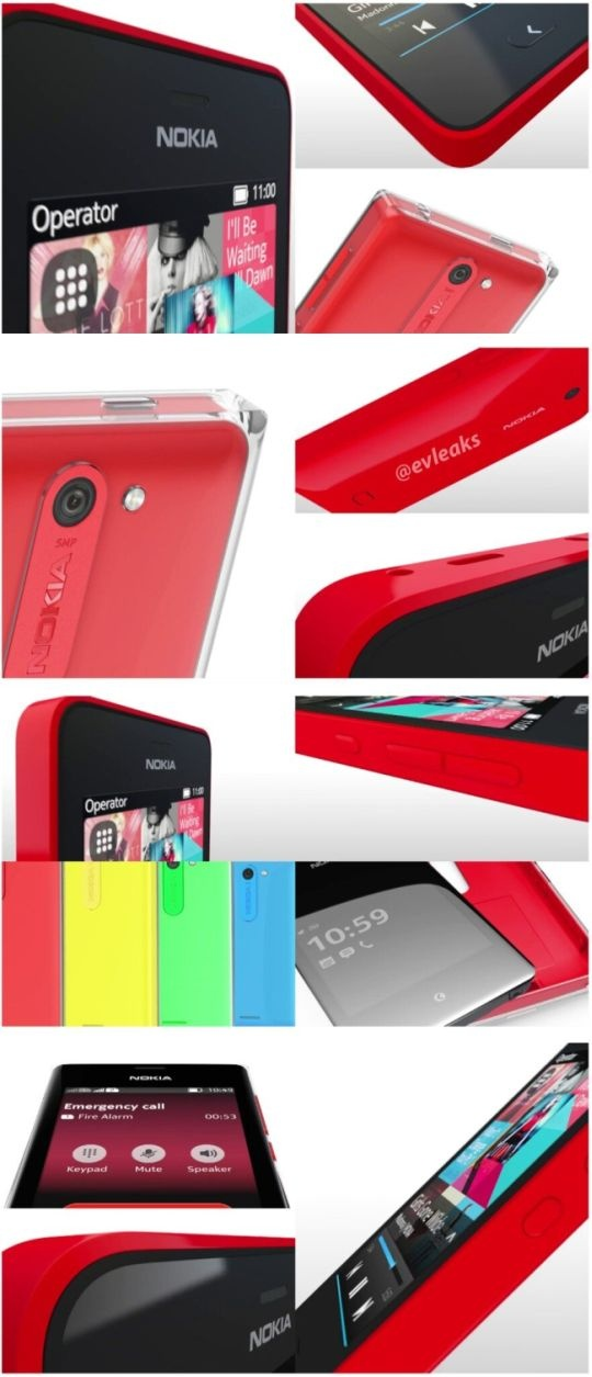 Nokia Asha Design language