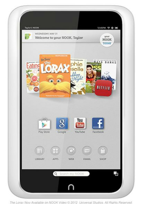 Google Play Store Comes to Nook Tablet