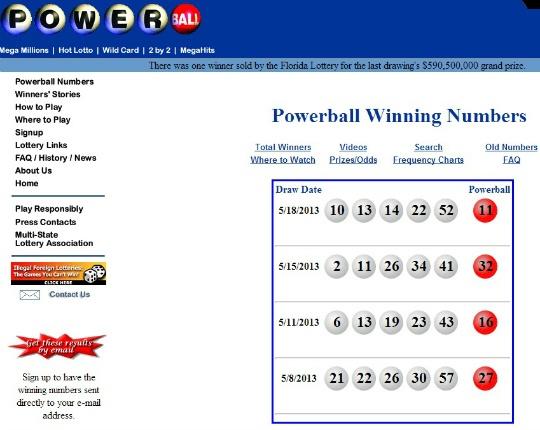 US Lottery Winner Scoops $590 Million Jackpot