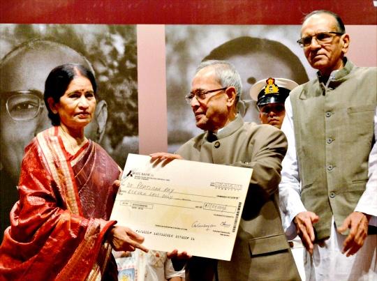 Jnanpith Award Conferred on Pratibha Ray