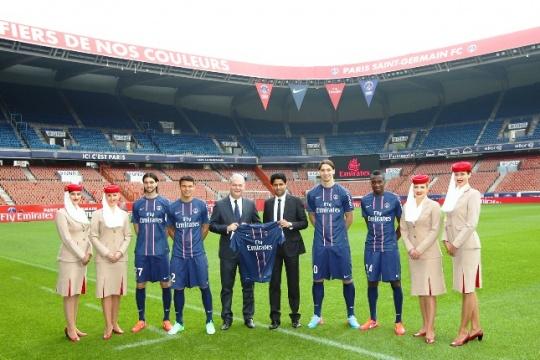 Emirates Extends PSG Sponsorship