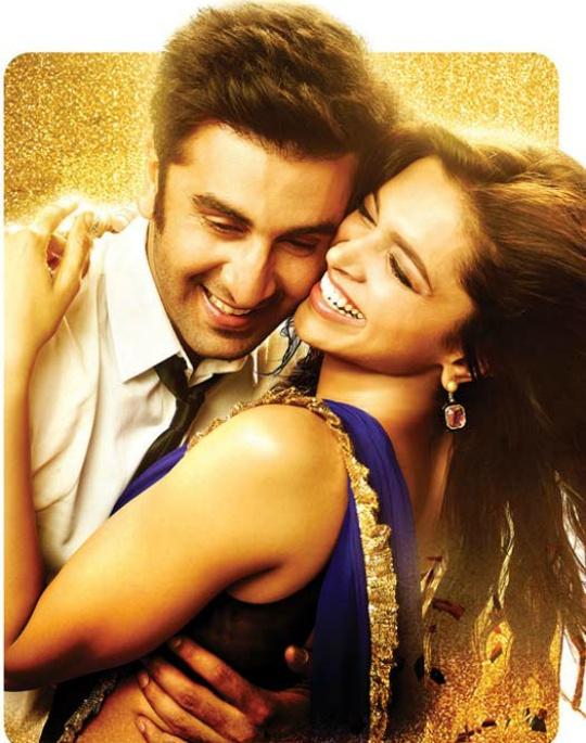 Ranbir, Deepika on 'Pyaar Ka Dard Hai'
