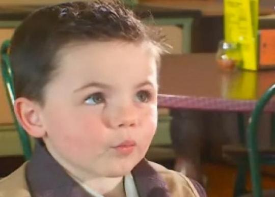 Four-year-old Mayor